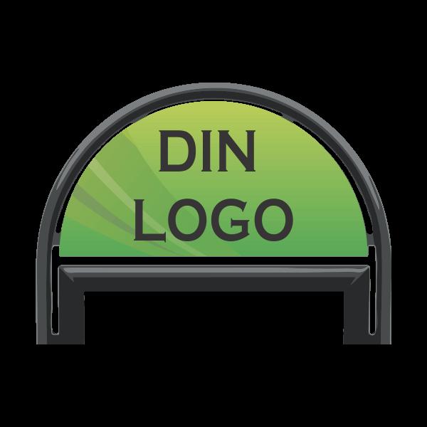 Gatupratare Logo till 50x70