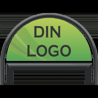 Gatupratare Logo till 50x70 topställ