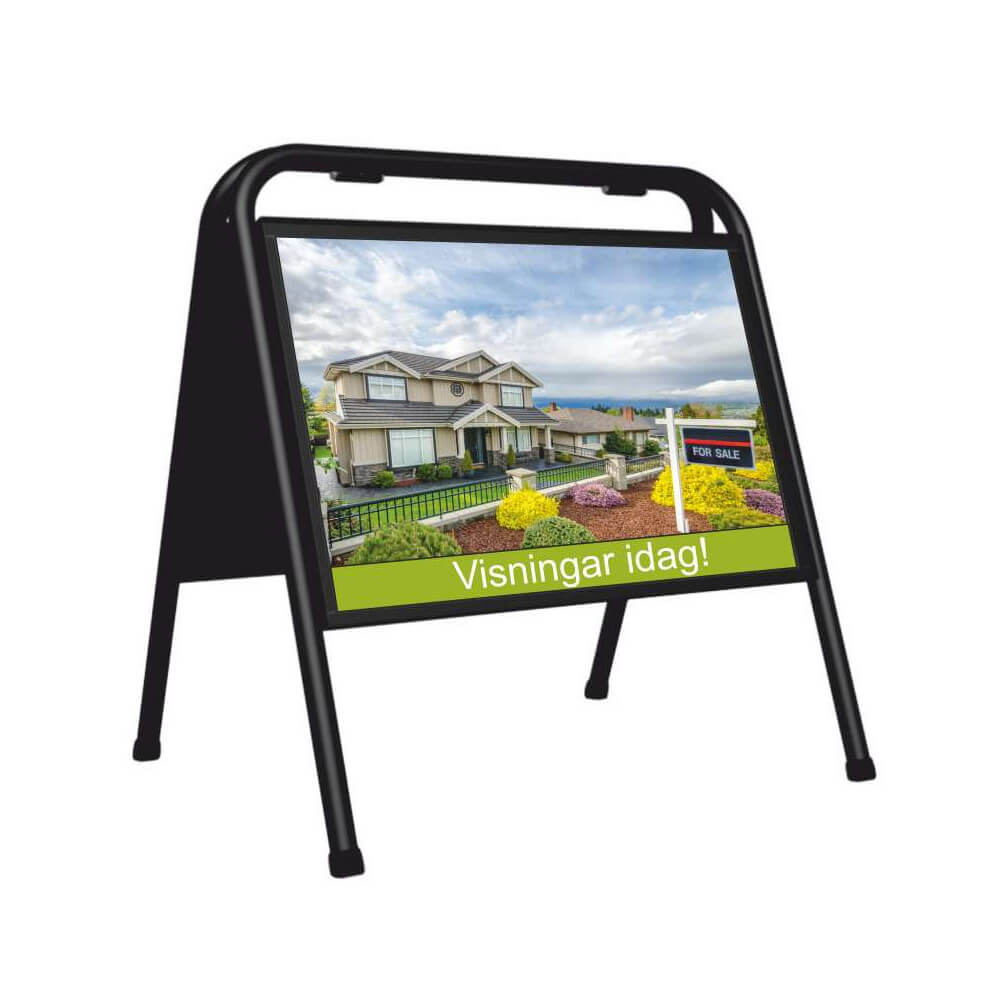 A3 29,7x42cm 2 Styck Affisch Väderbeständigt till Gatupratare